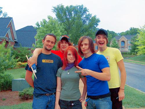 Az együttes felállása a lemez készítésekor. Sorrendben: John Hembree, Zac Farro, Hayley Williams, Josh Farro, Jason Bynum
